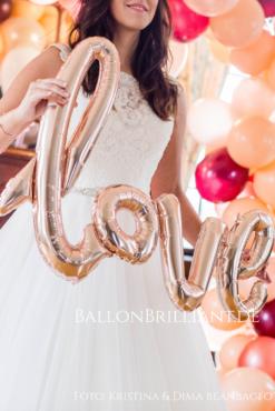 Ballon-Schriftzüge