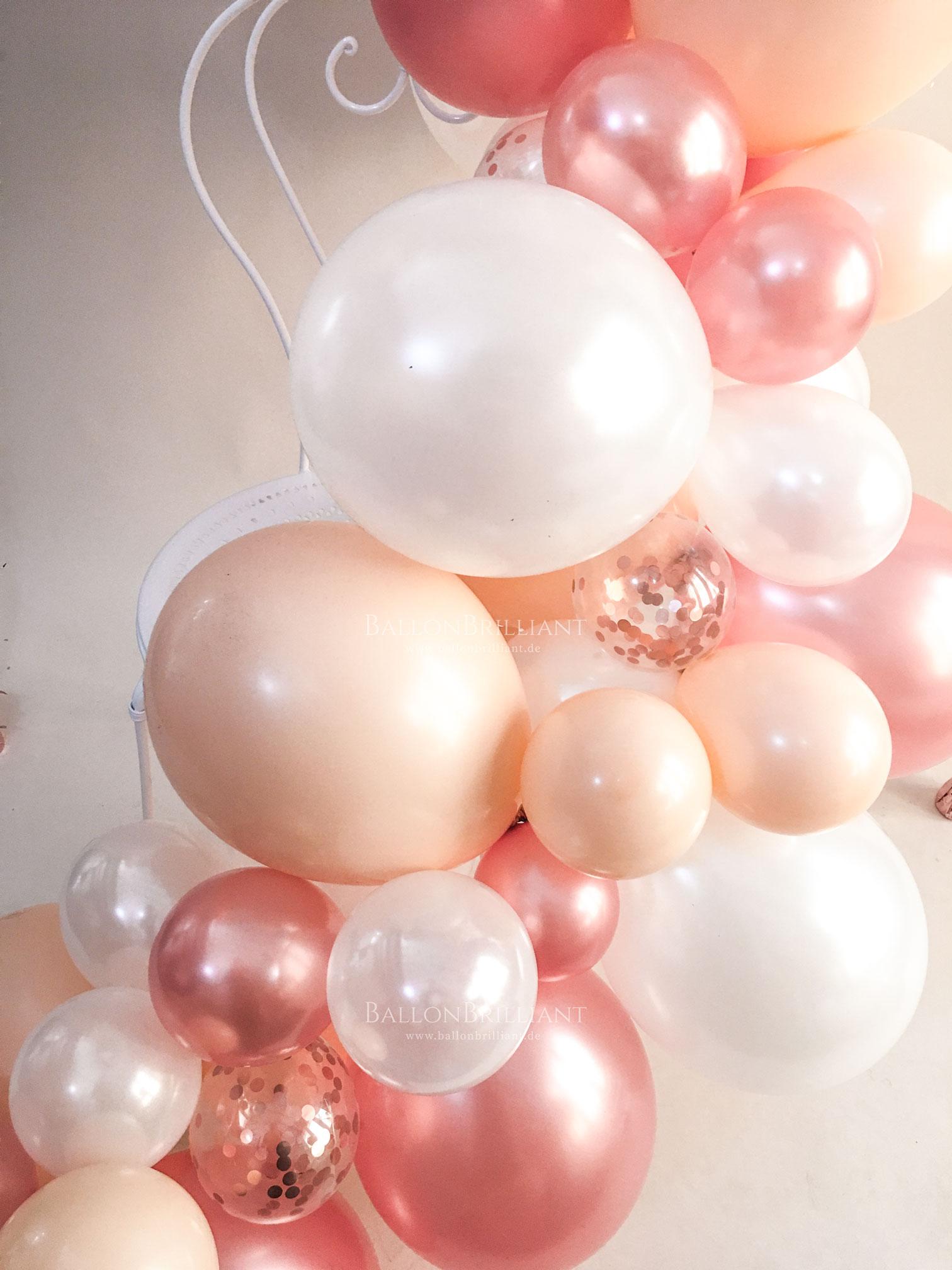 BallonBrilliant Girlande Ballongirlande Nahaufnahme