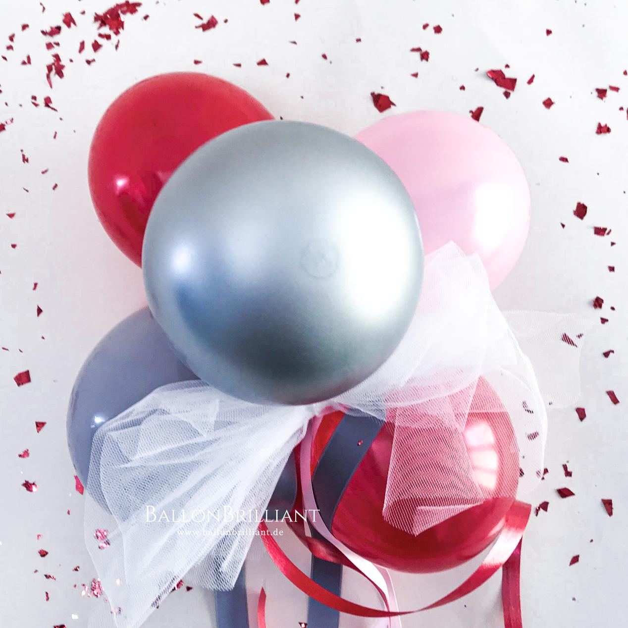 Rot / Silber / Rosa (Nr. 27)