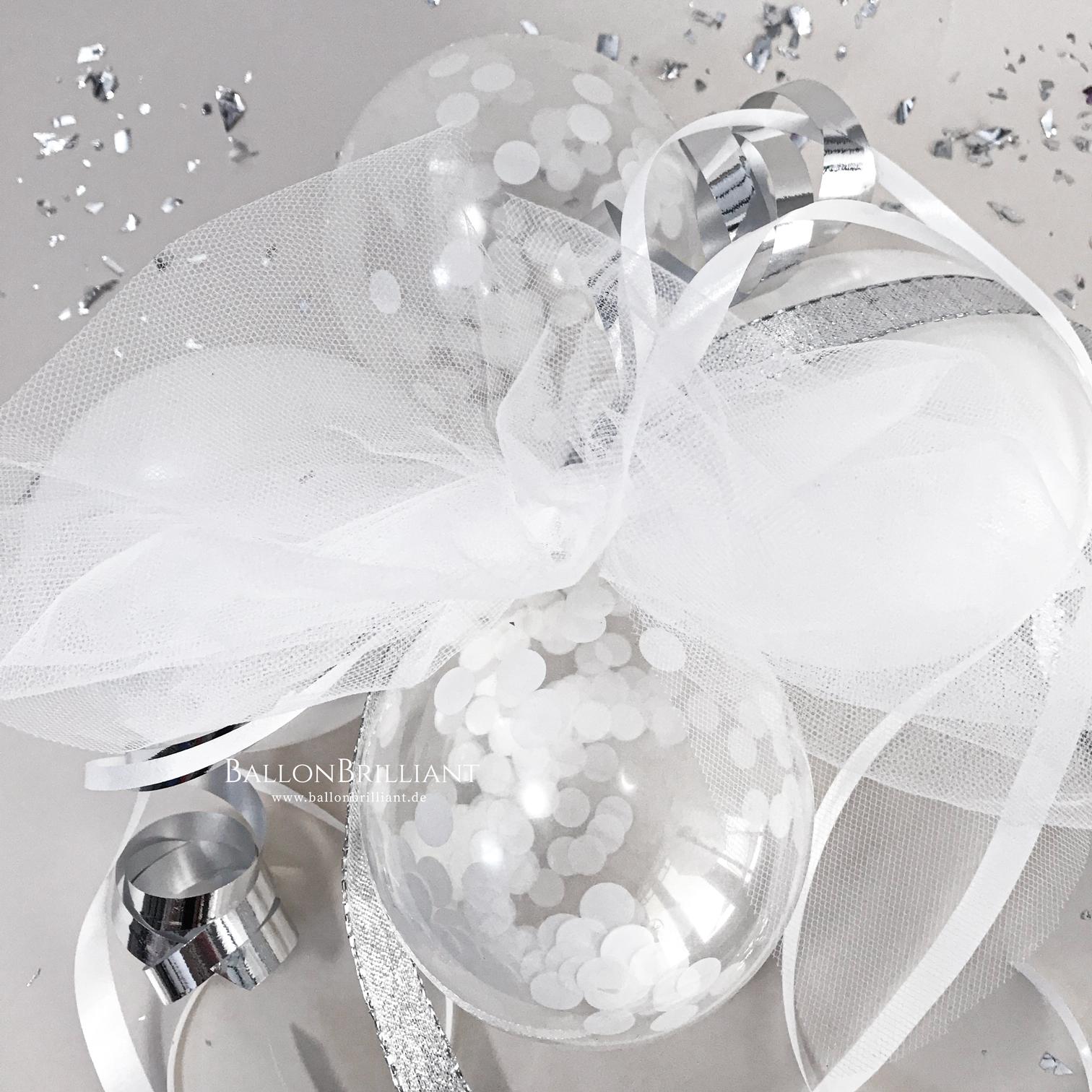 Weiß Konfetti / Weiß (Nr. 1)